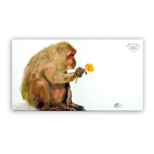 Stump-tailed Macaque Canvas