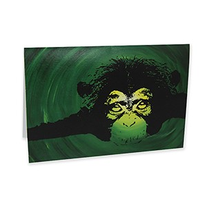 Chimp Card
