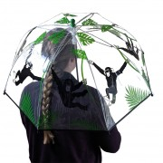 holding umbrella cut out small