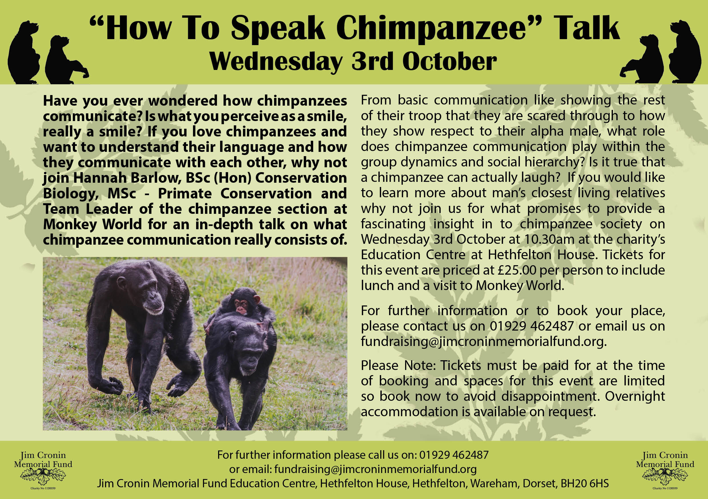 How to speak chimp
