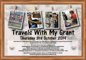 Travels with my grant Sian