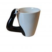 chimp arm handle mug back